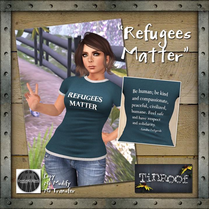 Refugees' Lives Matter